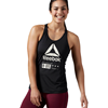 Reebok Crossfit Chill Graphic Tank Dam